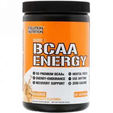 EVLution Nutrition, BCAAエナジー、オレンジドリーム、10.01 oz (285 g) (Discontinued Item)