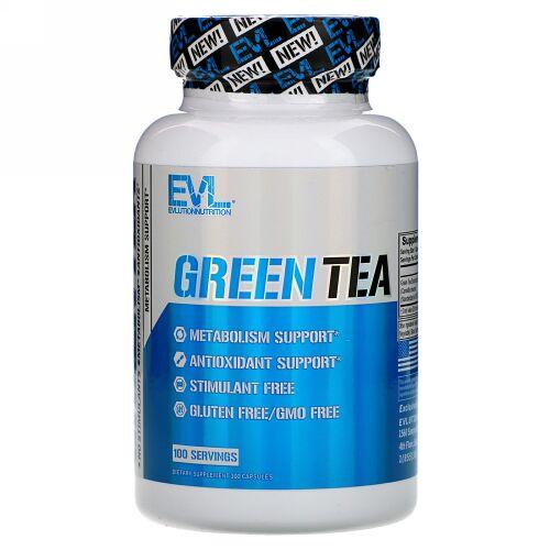 EVLution Nutrition, Green Tea, 100 Capsules (Discontinued Item)