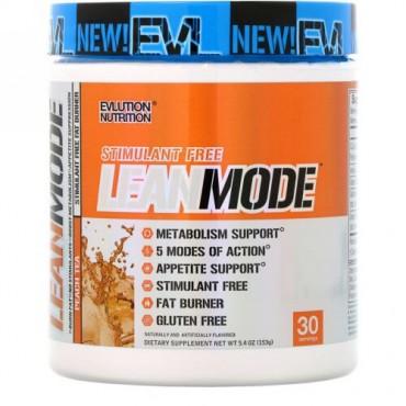 EVLution Nutrition, リーンモード、ピーチティー、153g (Discontinued Item)