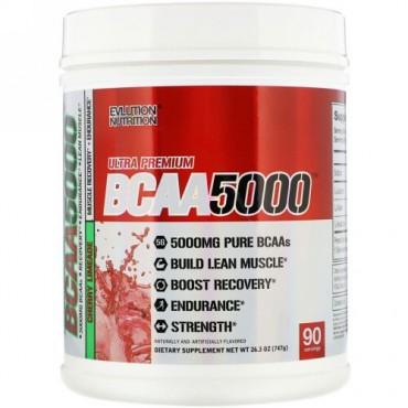 EVLution Nutrition, Ultra Premium BCAA 5000, Cherry Limeade, 26.3 oz (747 g) (Discontinued Item)