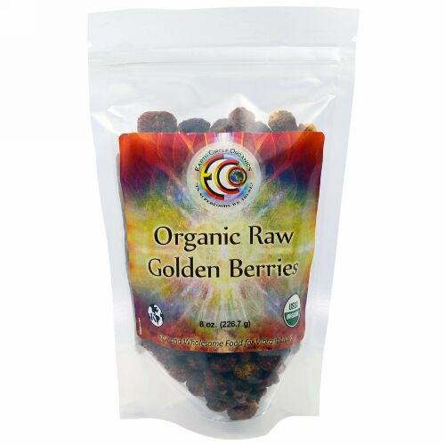 Earth Circle Organics, オーガニックロー・ゴールデンベリー、226.7g (Discontinued Item)
