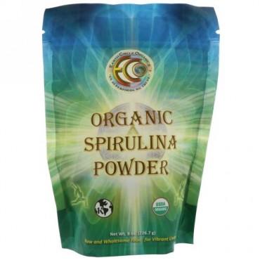 Earth Circle Organics, Spirulina Organic Powder, 8 oz (226.7 g) (Discontinued Item)