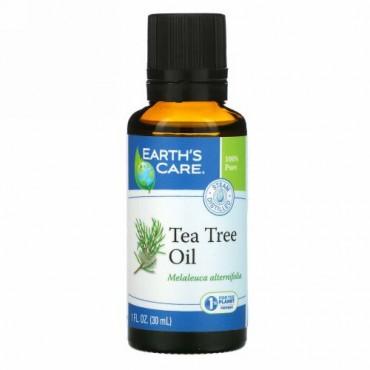 Earth's Care, ティー ツリー オイル、 1液量オンス (30 ml)