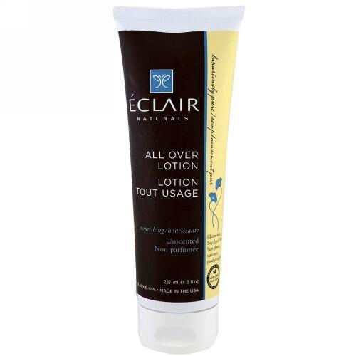 Eclair Naturals, オールオーバーローション、栄養補給。無香料、8液量オンス (237 ml) (Discontinued Item)