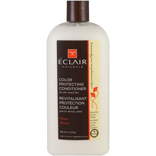 Eclair Naturals, カラー保護コンディショナー、 マンゴー、 12液量オンス (355 ml) (Discontinued Item)