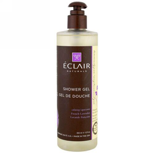 Eclair Naturals, シャワージェル、リラックス、フレンチラベンダー、12 fl oz (355 ml) (Discontinued Item)