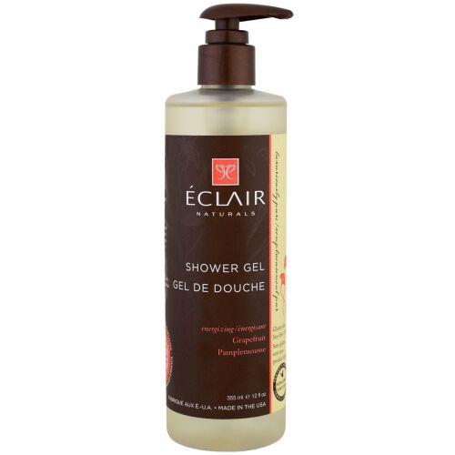 Eclair Naturals, シャワージェル、エネルギーアップ、グレープフルーツ、12 fl oz (355 ml) (Discontinued Item)