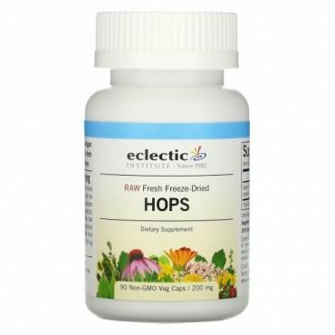 Eclectic Institute, ホップ, 200 mg, 90粒(非GMOベジタリアンカプセル)