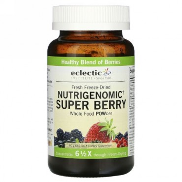 Eclectic Institute, Nutrigenomic(ニュートリゲノミック)ベリーパウダー、3.17 オンス (90 g)