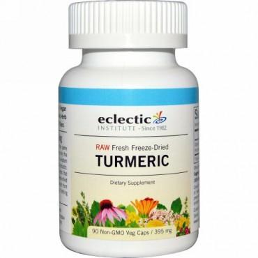 Eclectic Institute, Turmeric, 395 mg, 90 Non-GMO Veg Caps