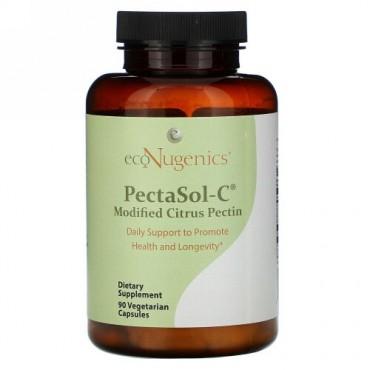 Econugenics, PectaSol-C, Modified Citrus Pectin, 90 Vegetarian Capsules