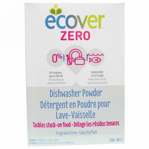 Ecover, 添加物ゼロ食器洗いクレンザー, 無香料, 48オンス(1.36 kg) (Discontinued Item)