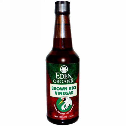 Eden Foods, オーガニック、ブラウンライスビネガー、10 fl oz (296 ml) (Discontinued Item)