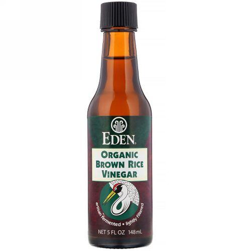Eden Foods, オーガニック 玄米酢、 5 fl oz (148 ml) (Discontinued Item)