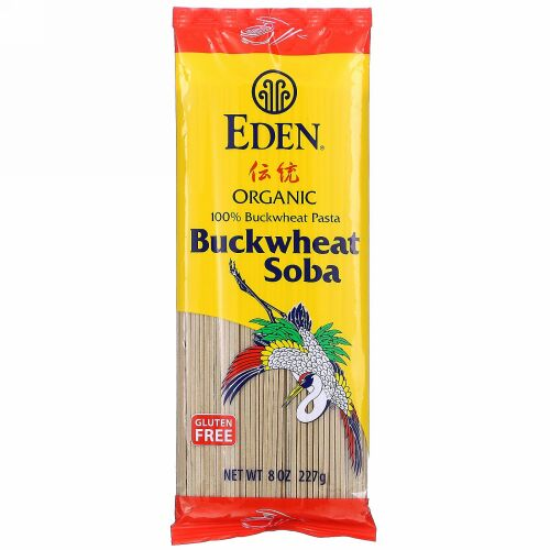 Eden Foods, Organic Buckwheat Soba, 8 oz (227 g)