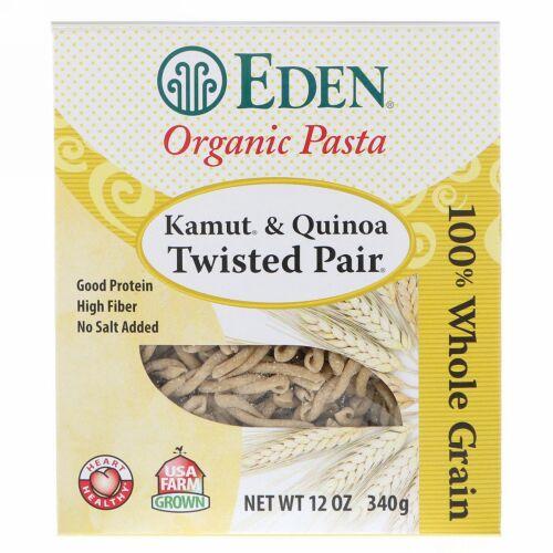 Eden Foods, Organic Pasta, Kamut & Quinoa Twisted Pair, 12 oz (340 g) (Discontinued Item)