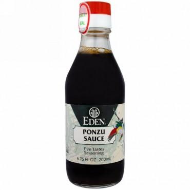 Eden Foods, ポン酢ソース、6.75 fl oz (200 ml) (Discontinued Item)