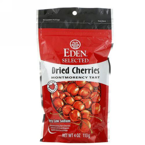 Eden Foods, 厳選、ドライチェリー モンモランシー タルト、4 オンス (113 g)