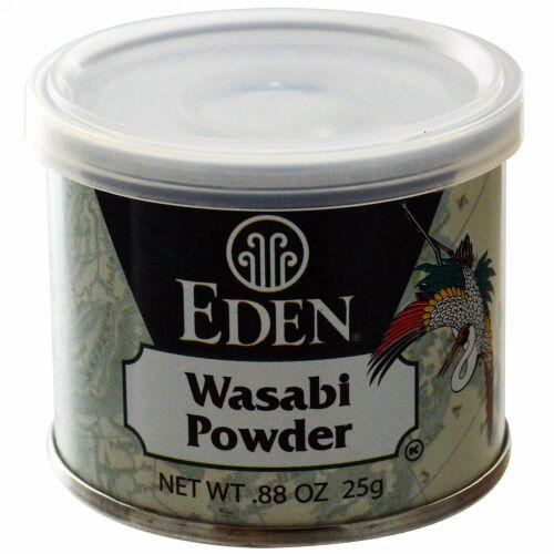 Eden Foods, わさびパウダー、.88 oz (25 g) (Discontinued Item)