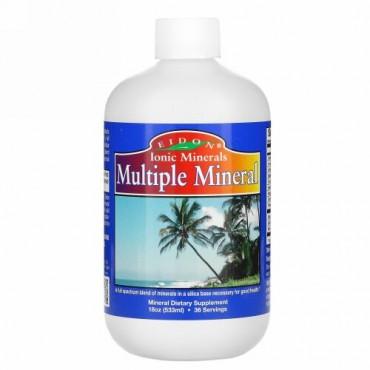 Eidon Mineral Supplements, マルチプルミネラル、18oz (533 ml)