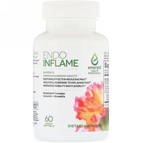 Emerald Health Bioceuticals, EndoInflame, 60 Vegan Softgels (Discontinued Item)