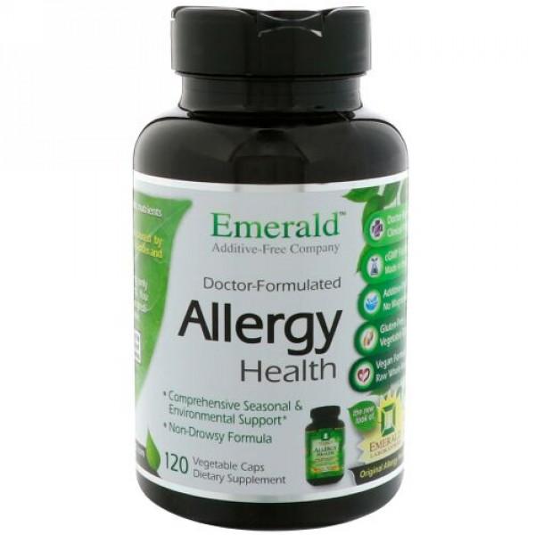 Emerald Laboratories, アレルギーの健康、ベジキャップ120錠 (Discontinued Item)