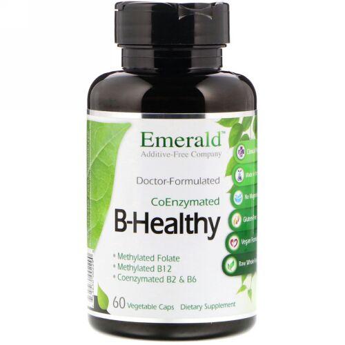 Emerald Laboratories, B-Healthy, 60 Vegetable Caps