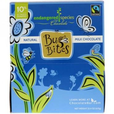 Endangered Species Chocolate, バグバイツ、ナチュラルミルクチョコレート、22.4 oz (635 g) (Discontinued Item)