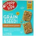 Enjoy Life Foods, クリスピー穀物 & シードバー、メープルスイートポテト、5本、各1オンス (28 g) (Discontinued Item)