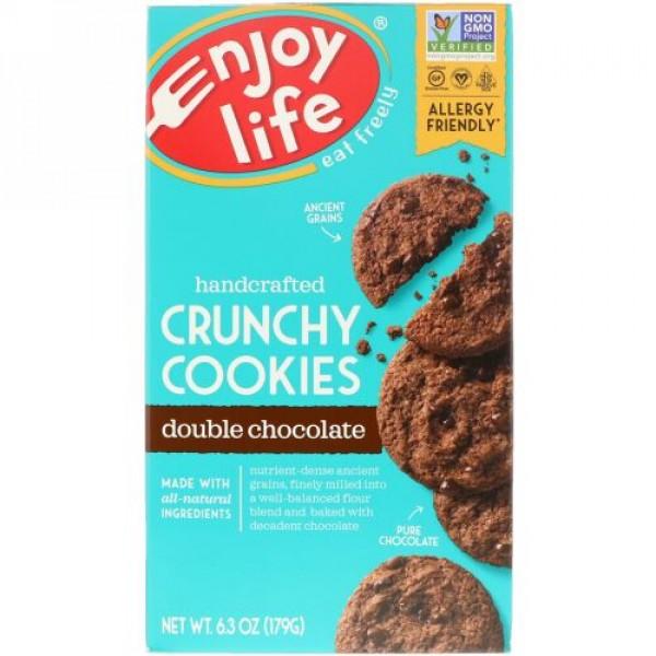 Enjoy Life Foods, 手作りクランチ―・クッキー、ダブル・チョコレート、6.3 オンス (179 g) (Discontinued Item)