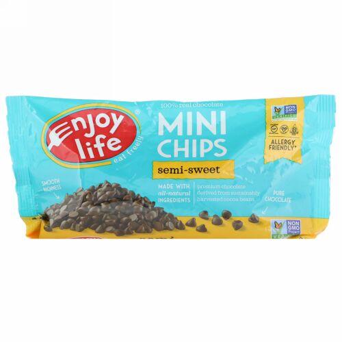 Enjoy Life Foods, ミニ チップス, セミスイート チョコレート, 10 oz (283 g)