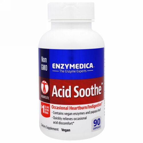 Enzymedica, アシッドスーズ、 90カプセル