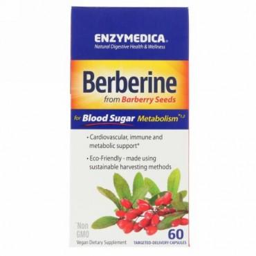 Enzymedica, ベルベリン、60カプセル
