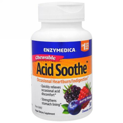 Enzymedica, 噛んで食べる酸化防止剤、ベリー味、30錠 (Discontinued Item)