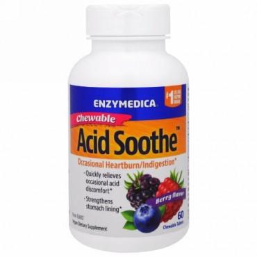 Enzymedica, 噛んで食べる酸化防止剤、ベリー味、60錠 (Discontinued Item)