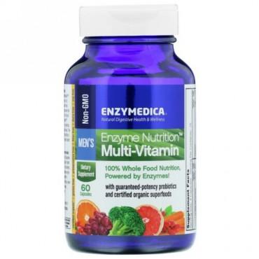 Enzymedica, 酵素栄養素マルチビタミン、メンズ、60カプセル (Discontinued Item)