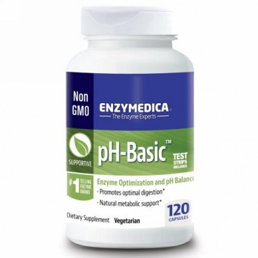 Enzymedica, pHベーシック, 120カプセル