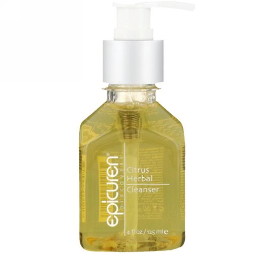Epicuren Discovery, Citrus Herbal Cleanser, 4 fl oz (125 ml) (Discontinued Item)