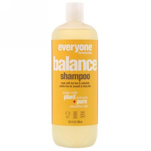 Everyone, Balance, Shampoo, Smooth & Shiny, 20.3 fl oz (600 ml) (Discontinued Item)