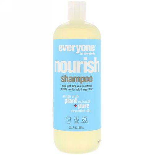 Everyone, Nourish, Shampoo, 20.3 fl oz (600 ml) (Discontinued Item)