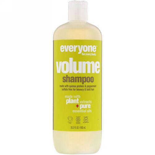 Everyone, Volume, Shampoo, 20.3 fl oz (600 ml)