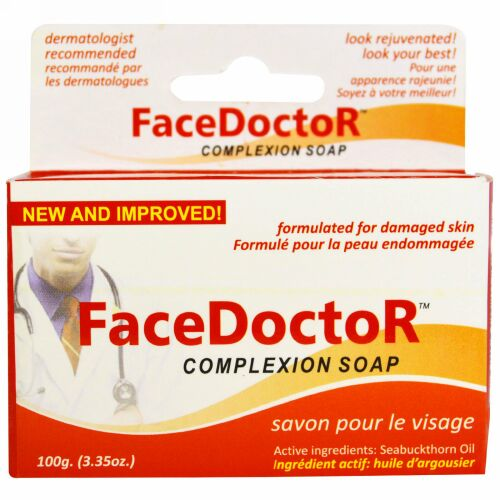 Face Doctor, FaceDoctorコンプレクションソープ、3.35 oz (100 g) (Discontinued Item)