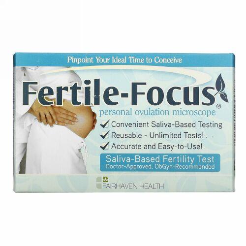 Fairhaven Health, ファータイル-フォーカス、1 パーソナル 排卵 マイクロスコープ