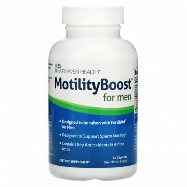 Fairhaven Health, 男性のためのモティリティブースト(MotilityBoost), 60カプセル