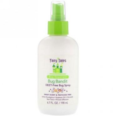 Fairy Tales, Bug Bandit, Deet- Free Bug Spray, 6.7 fl oz (198 ml) (Discontinued Item)