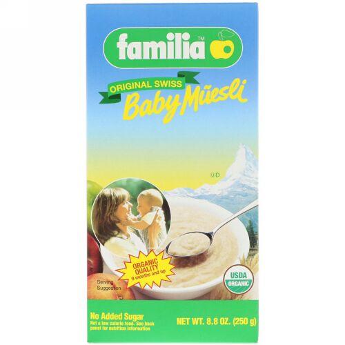 Familia, ベビーミューズリー、オリジナルスイス、8.8 oz (250 g) (Discontinued Item)