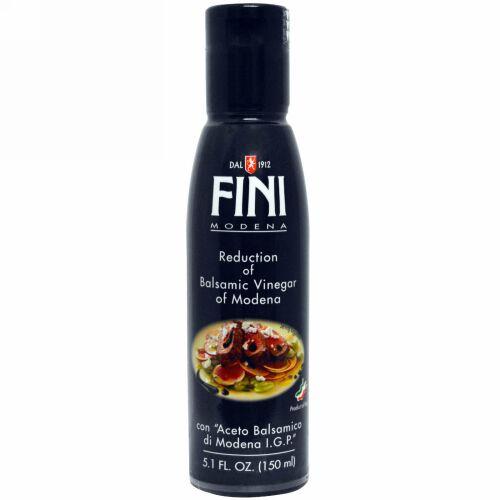 Fini Modena, モデナ産バルサミコ酢リダクション(煮詰め)、 5.1 液量オンス (150 ml) (Discontinued Item)