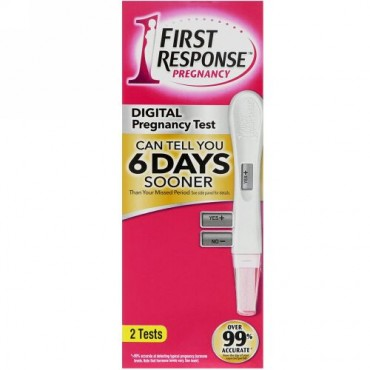 First Response, Digital Pregnancy, 2 Tests (Discontinued Item)