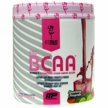 FitMiss, BCAA、 女性の分枝鎖アミノ酸、 ストロベリーマルガリータ、 5.6 オンス (159 g) (Discontinued Item)