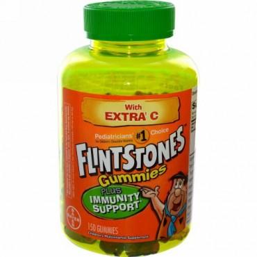 Flintstones, グミーズ、子供用マルチビタミン・サプリメント、グミ150 個